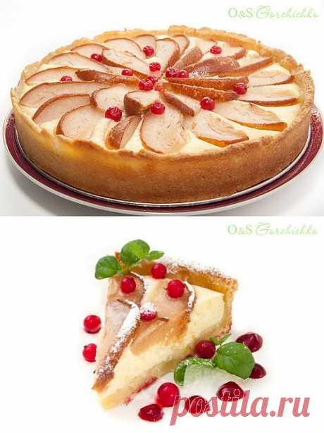 Пирог с творогом и грушами: Кулинарный фотодневник.