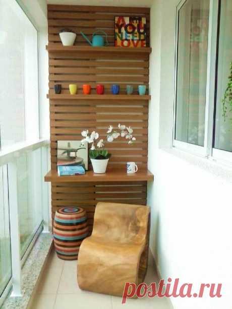Идеи, которые помогут преобразить маленький балкон: 20 вариантов достойных внимания