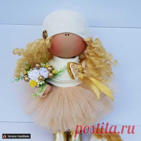 Кукла интерьерная ручной работы 30 см купить в Беларуси HandMade