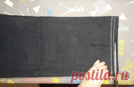 Покажу, как легко подшить тёплые джинсы с сохранением фабричного низа. Получается аккуратно, как у профи | МОЙ СТИЛЬ | Яндекс Дзен