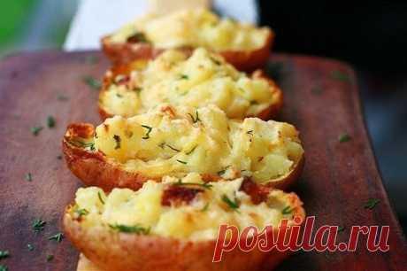 Картофель, запеченный в мундире - Пошаговый рецепт с фото своими руками Картофель, запеченный в мундире - Простой пошаговый рецепт приготовления в домашних условиях с фото. Картофель, запеченный в мундире - Состав, калорийность и ингредиенти вкусного рецепта.