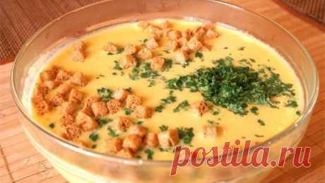 Ароматный английский сырный суп. Вкус не забываемый!