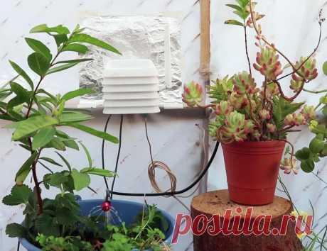 Автономная станция погодного контроля и полива растений Это руководство объединяет процесс разработки и сборки автономной станции для орошения и мониторинга работающей на солнечной энергии, которую мастер-самодельщик сделал для своего домашнего сада.Станция выполняет несколько задач. Она собирает атмосферные данные, данные о влажности почвы, отправляет