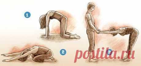 Комплекс йоги для коррекции сколиоза  Благодаря удлинению спины позвоночник и ребра выравниваются, напряжение из мышц спины уходит.
