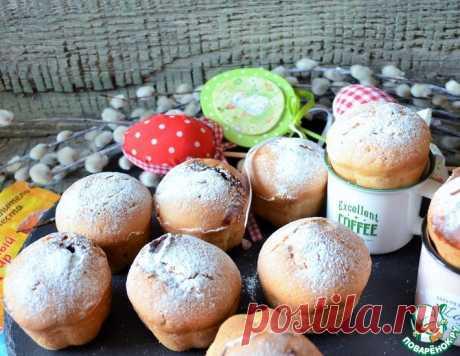 Ванильно-сливочные кексы с сюрпризом – кулинарный рецепт
