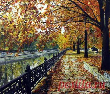 Осенний Салгир (автор: lemara_picture) • Gallerix ArtClub