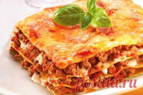 Символ Италии… Простые рецепты приготовления лазаньи — Фактор Вкуса