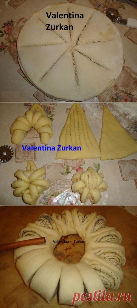Обалденная техника вырезания булок