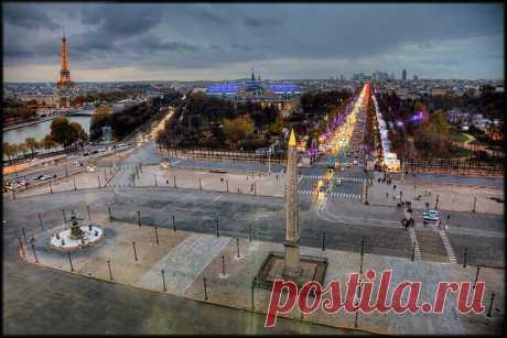 ВИРТУАЛЬНАЯ ПРОГУЛКА. ПАРИЖ. ЕЛИСЕЙСКИЕ ПОЛЯ  Главный бульвар Парижа — Елисейские поля/ Champs-Elysees (Шанз-Элизе)