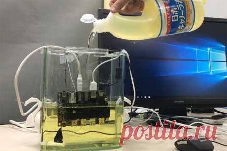 GECID.com: Рапсовое масло отлично охлаждает электронику