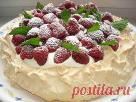 """""""Анна Павлова&quot cake meringue;"""