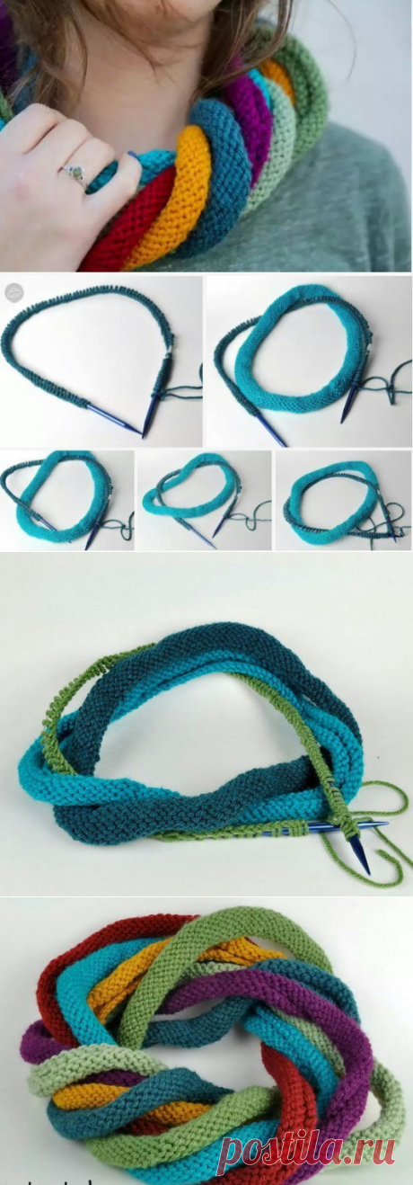 шарфы | Yarns, Scarves and Crochet