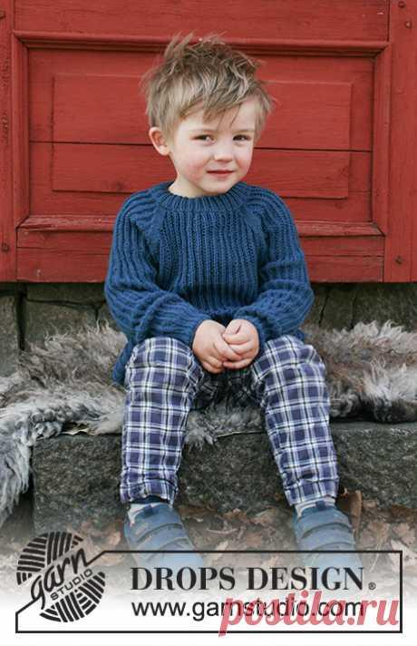 Детский джемпер Perkins - блог экспертов интернет-магазина пряжи 5motkov.ru