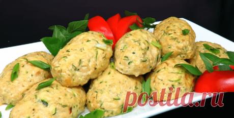 Куриные котлеты с кабачком - рецепт с фото пошагово