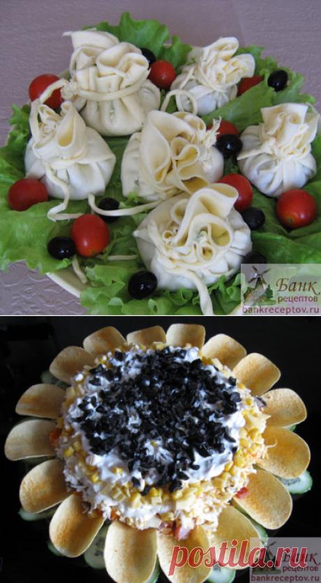Las ensaladas elegidas y las colaciones (de la foto)