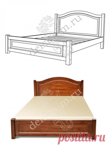 Кровать Белона-М купить недорого в Москве - производитель Дейсус-М