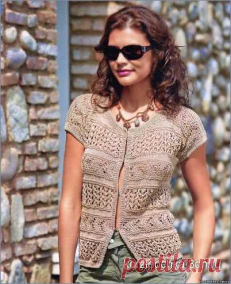 Вязание на спицах кофточек - Вязание спицами, модели и схемы для вязания на спицах