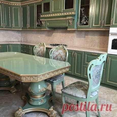 Прям царские палаты получились))). Как готовить-то на такой кухне?!