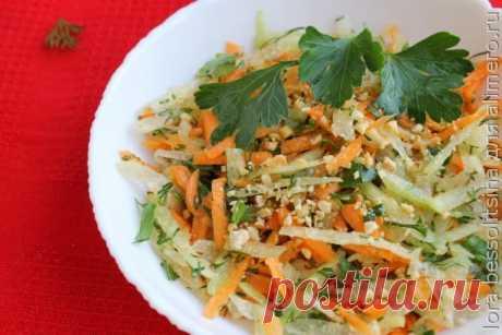 👌 Легкий весенний салатик из зеленой редьки - быстрый, простой, вкусный, рецепты с фото Вкусный рецепт Легкий весенний салатик из зеленой редьки - быстрый, простой, вкусный, пошаговый, с фото и отзывами 👍 Низкокалорийные салаты