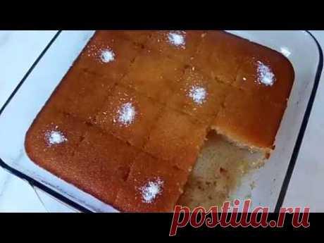 Ревани - турецкая сладость/Revani tatlısı/Ревани татлысы/Турецкая кухня