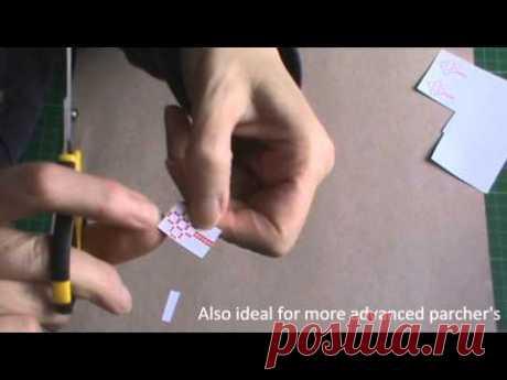 Видео мастер-класс по пергамано: Как создать красивый бордюр без специальных инструментов