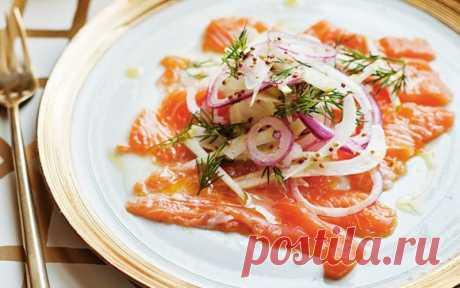 Лосось, засоленный по французскому рецепту — Sloosh – кулинарные рецепты