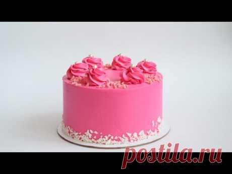 """Шоколадный торт """"ВИШНЁВЫЙ СОБЛАЗН""""  🍒 ШОКОЛАД и ВИШНЯ 🍒 ПОШАГОВОЕ ИСПОЛНЕНИЕ"""