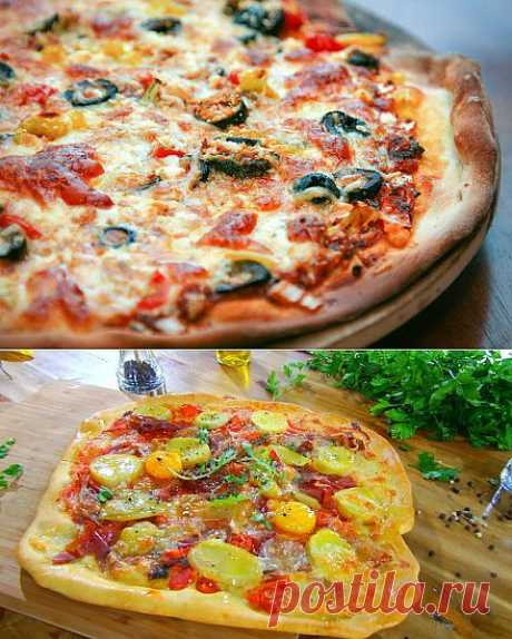 Здоровая пицца: Здоровое питание - diets.ru