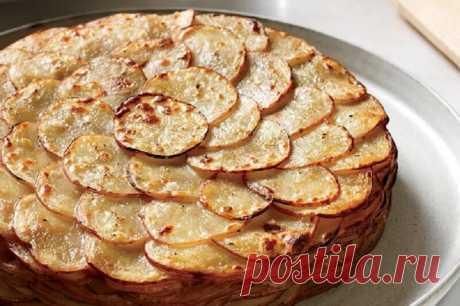 Запеченный картофель «Буланжер». Этот французский рецепт удивительно прост! - Кейс советов