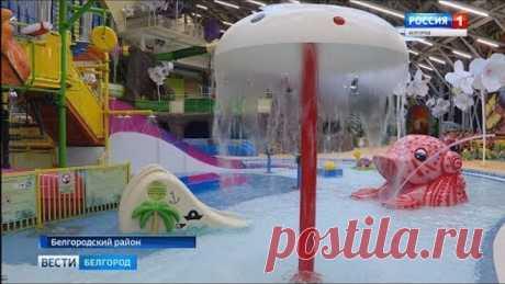 Под Белгородом открыли аквапарк «Лазурный»