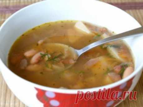 Фасолевый суп в мультиварке - Рецепты для мультиварки