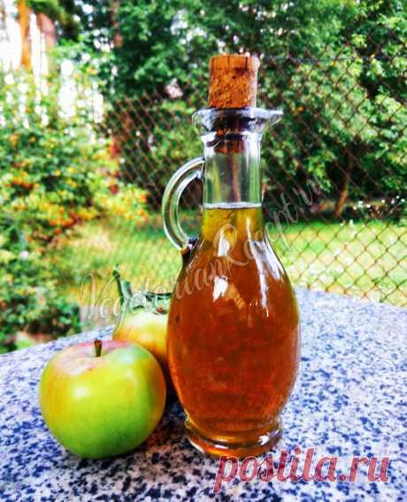 Яблочный уксус в домашних условиях - простой рецепт приготовления