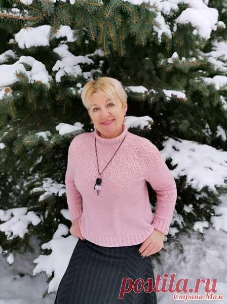 Иксия свитер - Вязание - Страна Мам