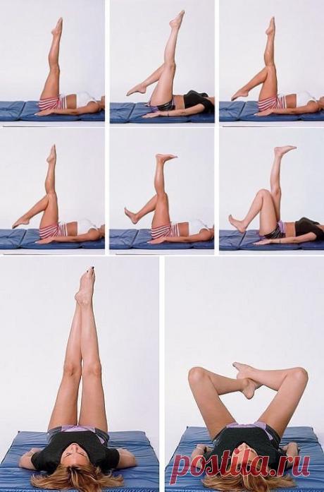 3 упражнения для стройности бедер