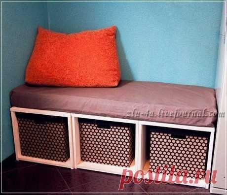 Мастер-класс: кухонный диван своими руками