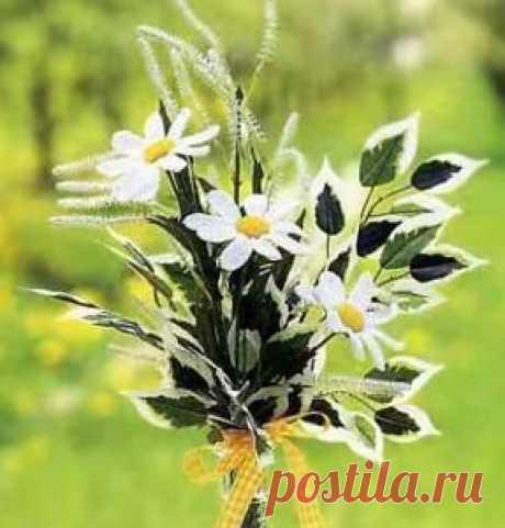 ромашки вязаные крючком | цветы своими руками. мастер класс. подарки своими руками. поделки своими руками
