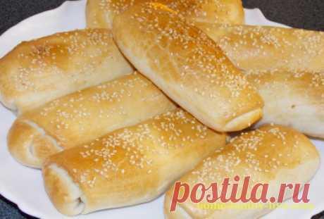 слоеные молдавские пирожки с яблоками и корицей