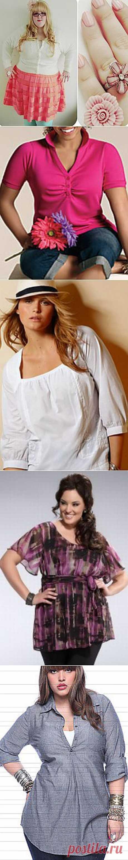 Летняя женская одежда больших размеров (фасоны xxl): часть 3