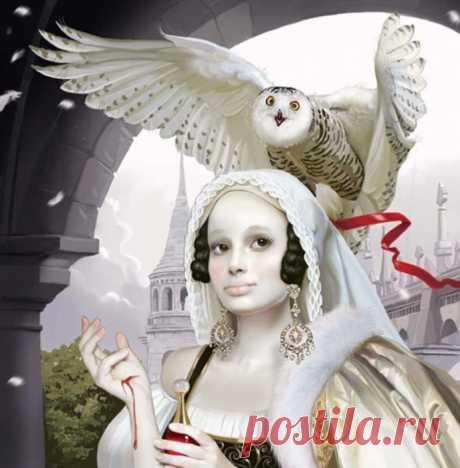 Ай да сказки! Потрясающие иллюстрации Татьяны Дорониной