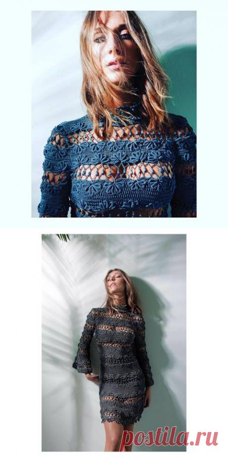 Коктейльные платья от Джованны Диас-золото и чёрный оникс