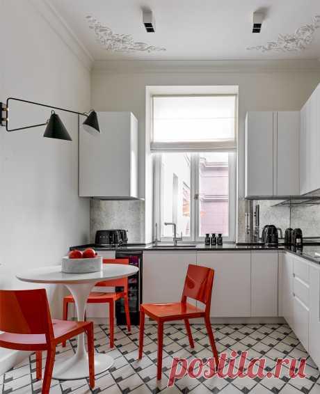 Какие полы лучше сделать на кухне, какое напольное покрытие выбрать – советы специалистов | Houzz Россия