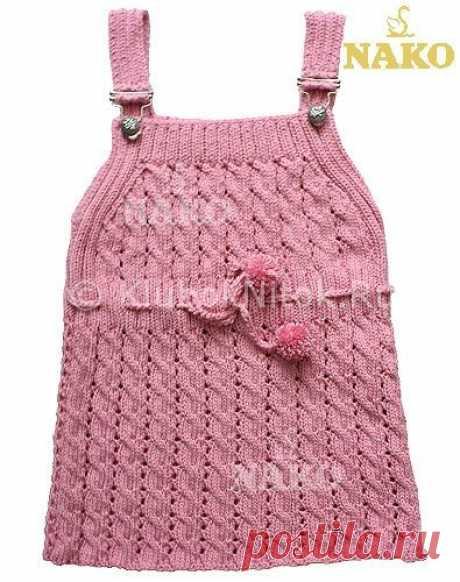 Сарафан от Nako | Вязание для девочек | Вязание спицами и крючком. Схемы вязания.