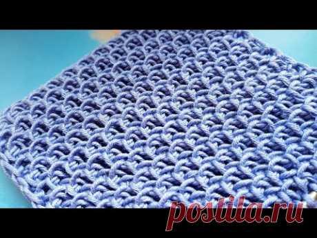 БОМБИЧЕСКИЙ УЗОР 🥇 спицами. Knitting pattern✌