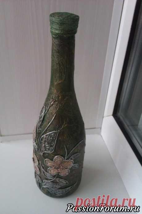 Бутылки декор - запись пользователя Капелька в сообществе Декор в категории Декор. Работы пользователей