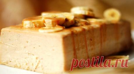 Восхитительный банановый чизкейк - Очень вкусно
