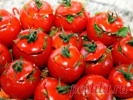 Самые вкусные малосольные помидоры по-армянски - Счастливый формат