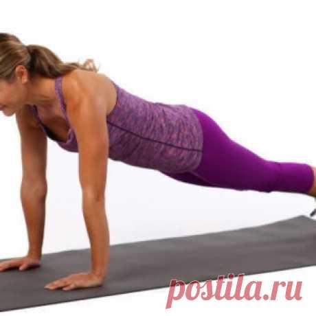 Одно упражнение для всех мышц пресса - МирТесен