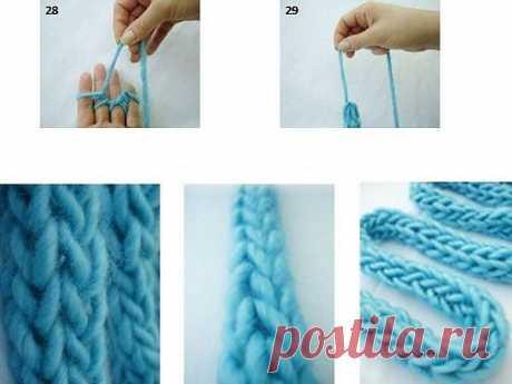 Вязание на пальцах / Вязание / ВТОРАЯ УЛИЦА
