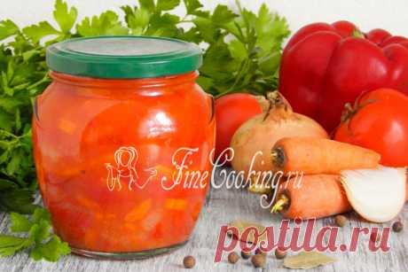Лечо из перца, помидоров, моркови и лука на зиму Для меня это самое вкусное лечо, которое только можно придумать.