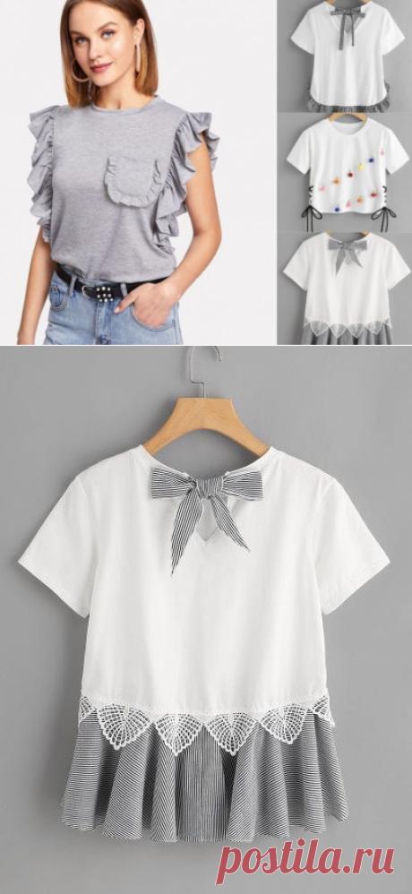 Про футболки: шьём и переделываем